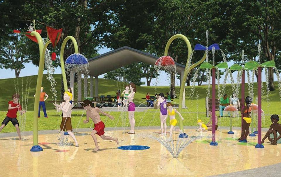 Edmonton Spray Park Splash Park
