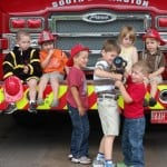 Climb a Firetruck + Get a Tour At 3 Stations on October 10 in Edmonton #yegkids