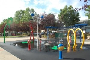 Cloverdale Spray Park