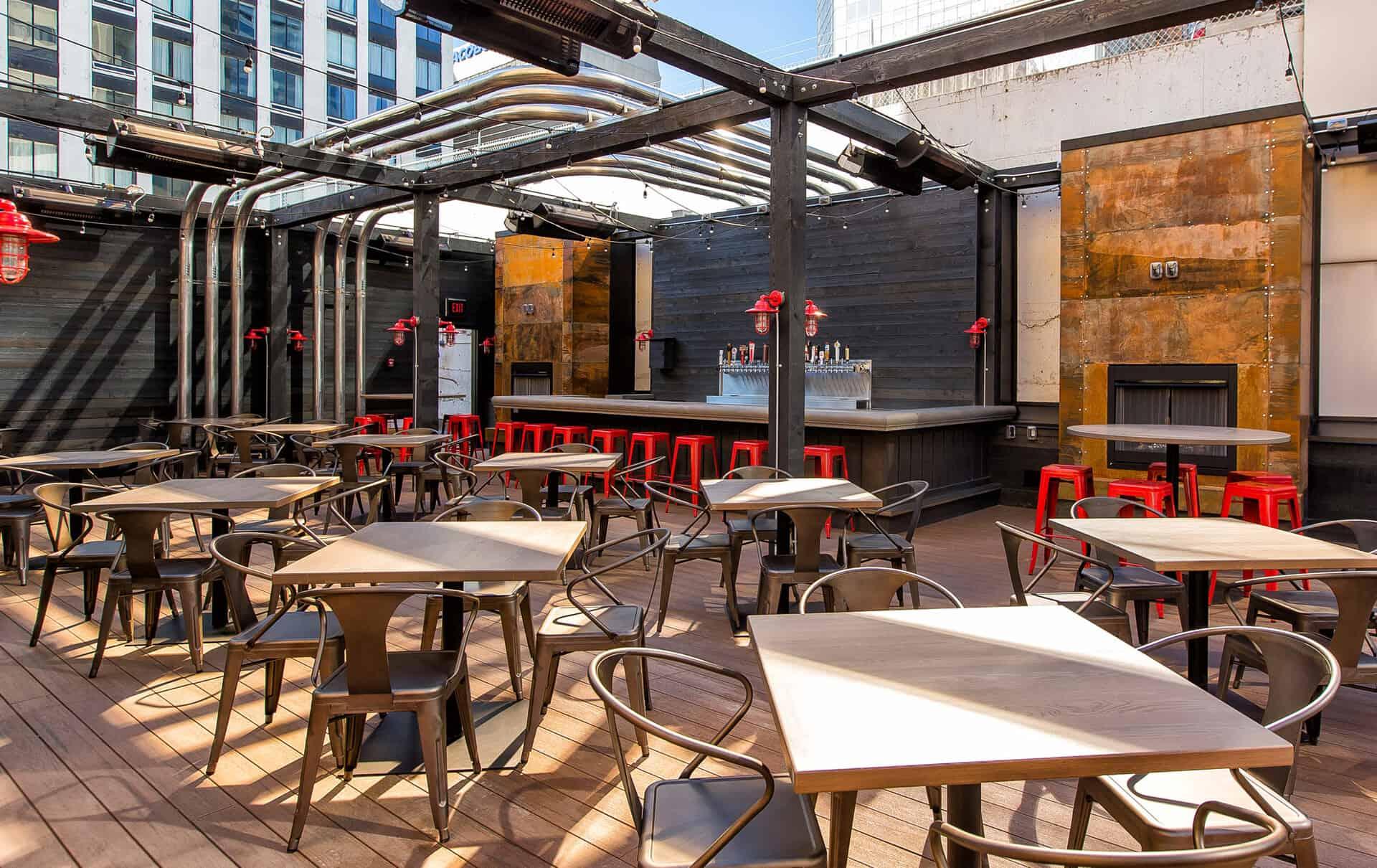 Patio Restaurant Downtown Calgary