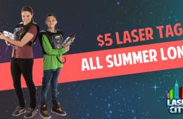 $5 Laser Tag Laser City