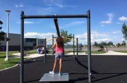 Zipline Park Florence Hallock School Edmonton