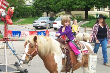 Pony Rides Cowboys for Kids Festival