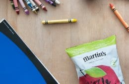 Martins Apple Chips - How to Serve Them