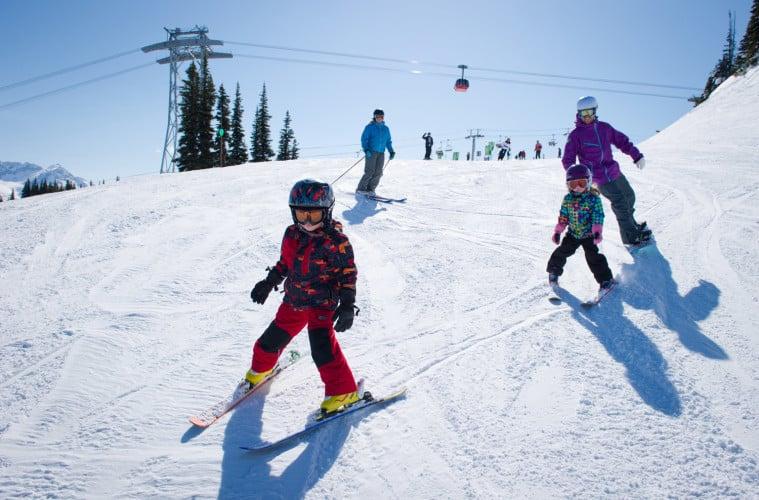 Servus Free Ski Fridays in Edmonton