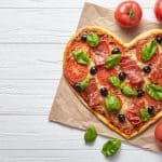Heart Shaped Pizzas are Back at Simply Supper | Contest