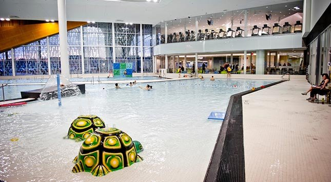 The best indoor swimming pools in edmonton for babies raising edmonton for Commonwealth pool swimming lessons