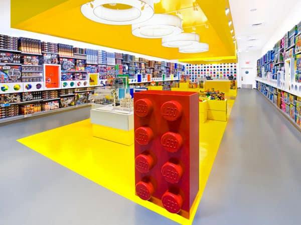 Lego Store Raising Edmonton