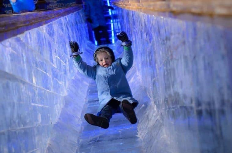 Ice Slide Edmonton