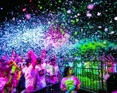 Edmonton Glow Foam Fest 5K Fun Race