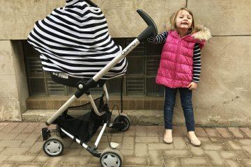 Milkbrain Baby Raising Edmonton Carseat Cover