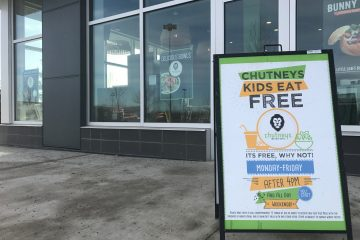 Kids eat Free Chutneys Grill