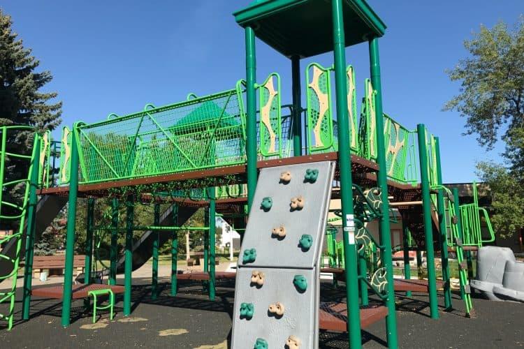 Crestwood Playground in Edmonton