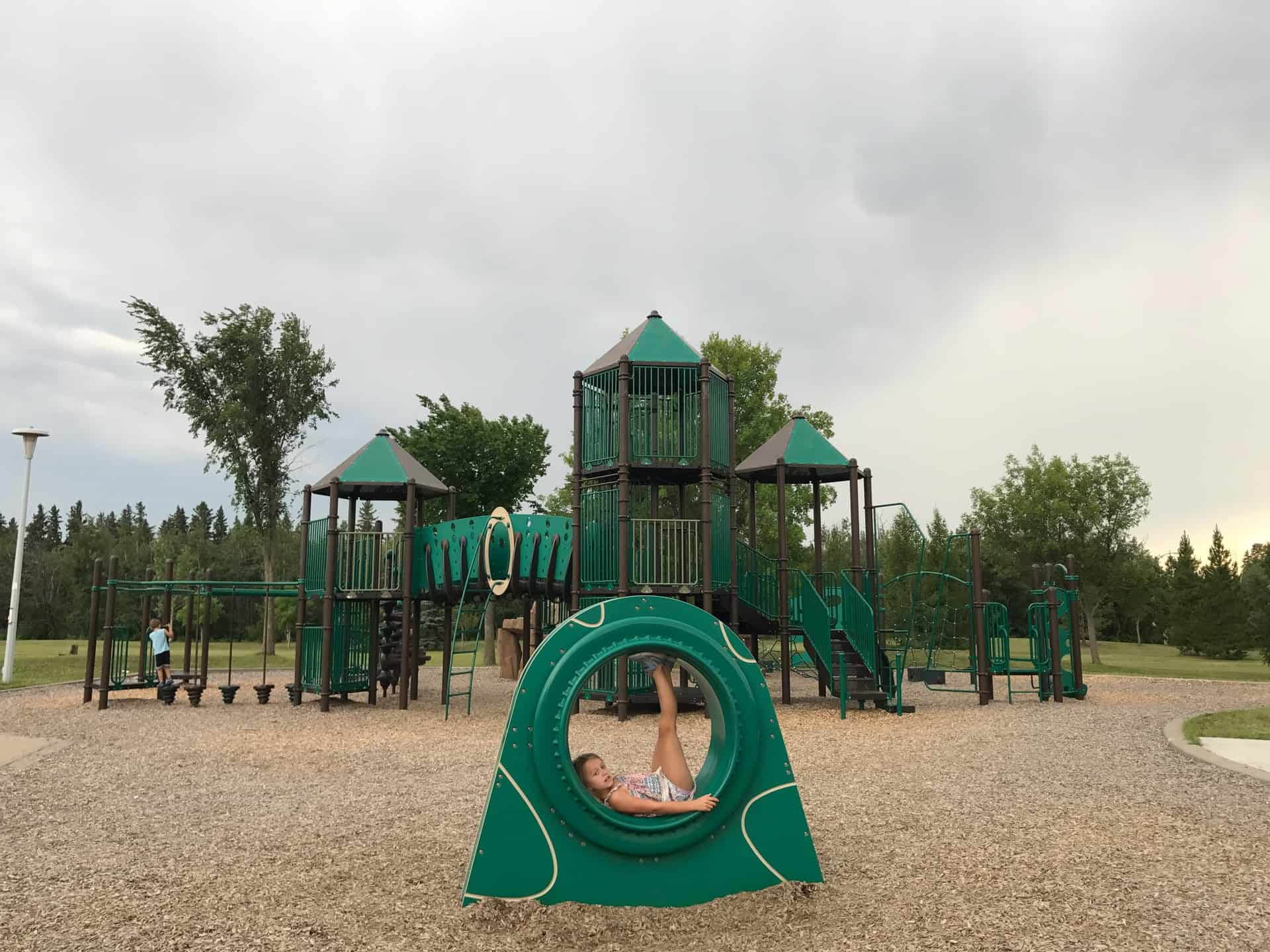 Westridge Wolf Willow Edmonton Playground