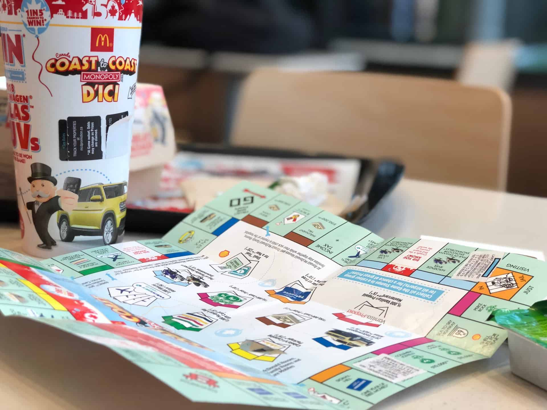 mcdonalds monopoly 2019 rules