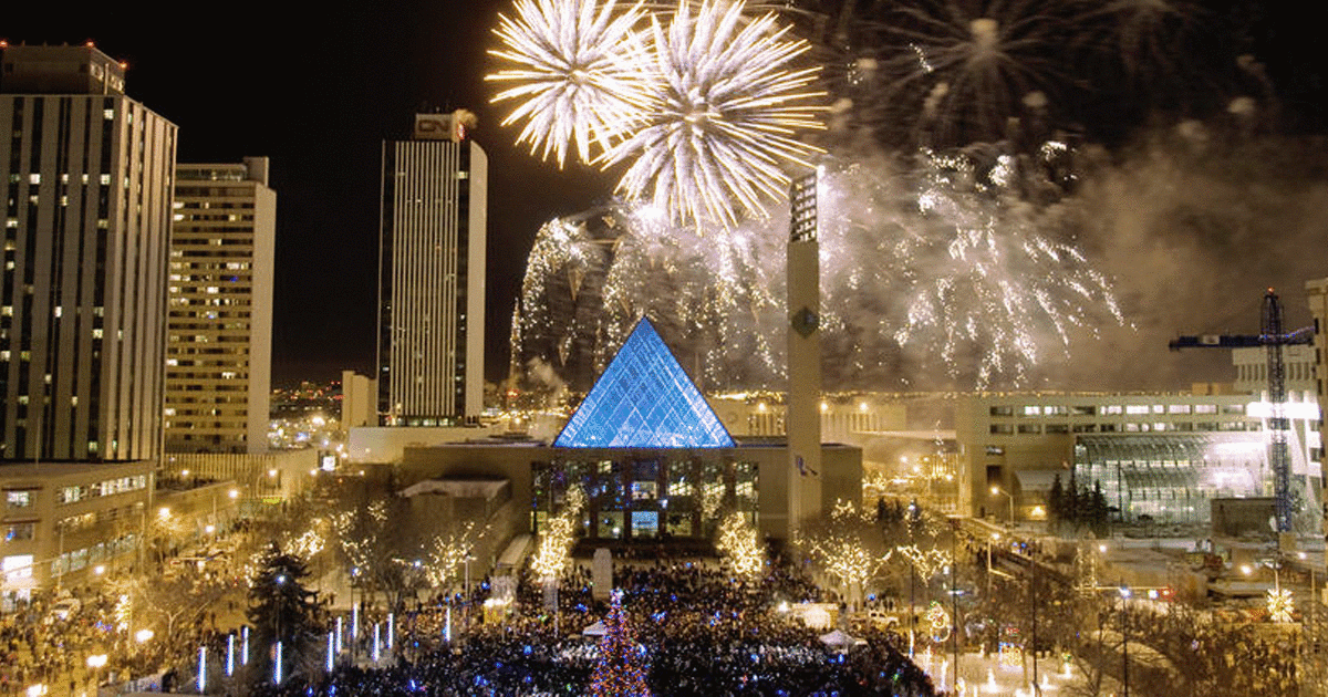 6 Places To See New Year S Eve Fireworks With Kids In Edmonton Raising Edmonton