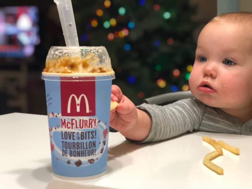 McDonalds Festive Menu