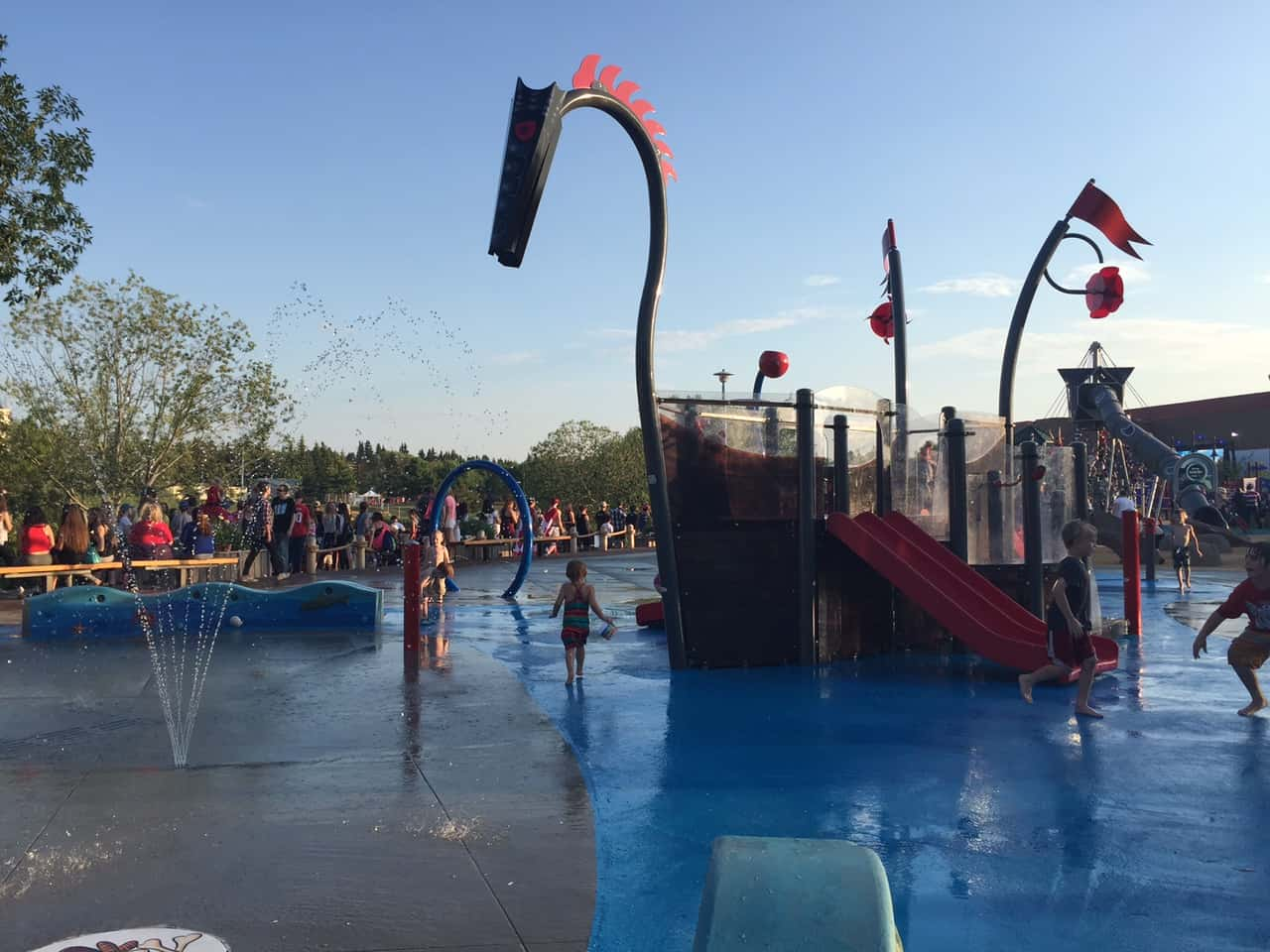 Broadmoor Lake RE/MAX Spray Park and Playground