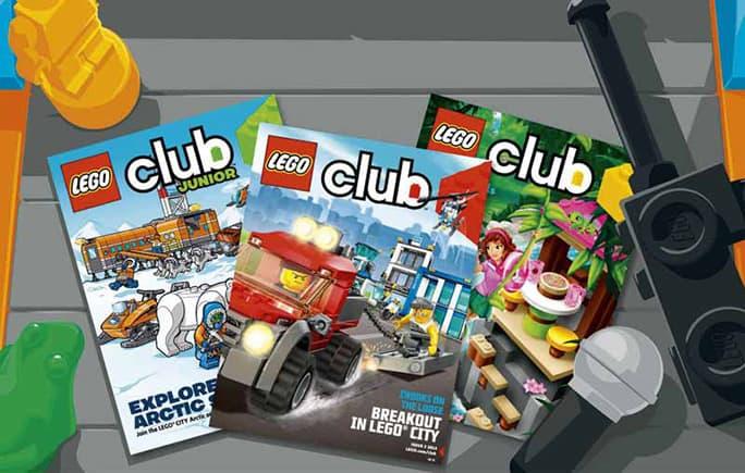Free Lego Club Magazine for Kids