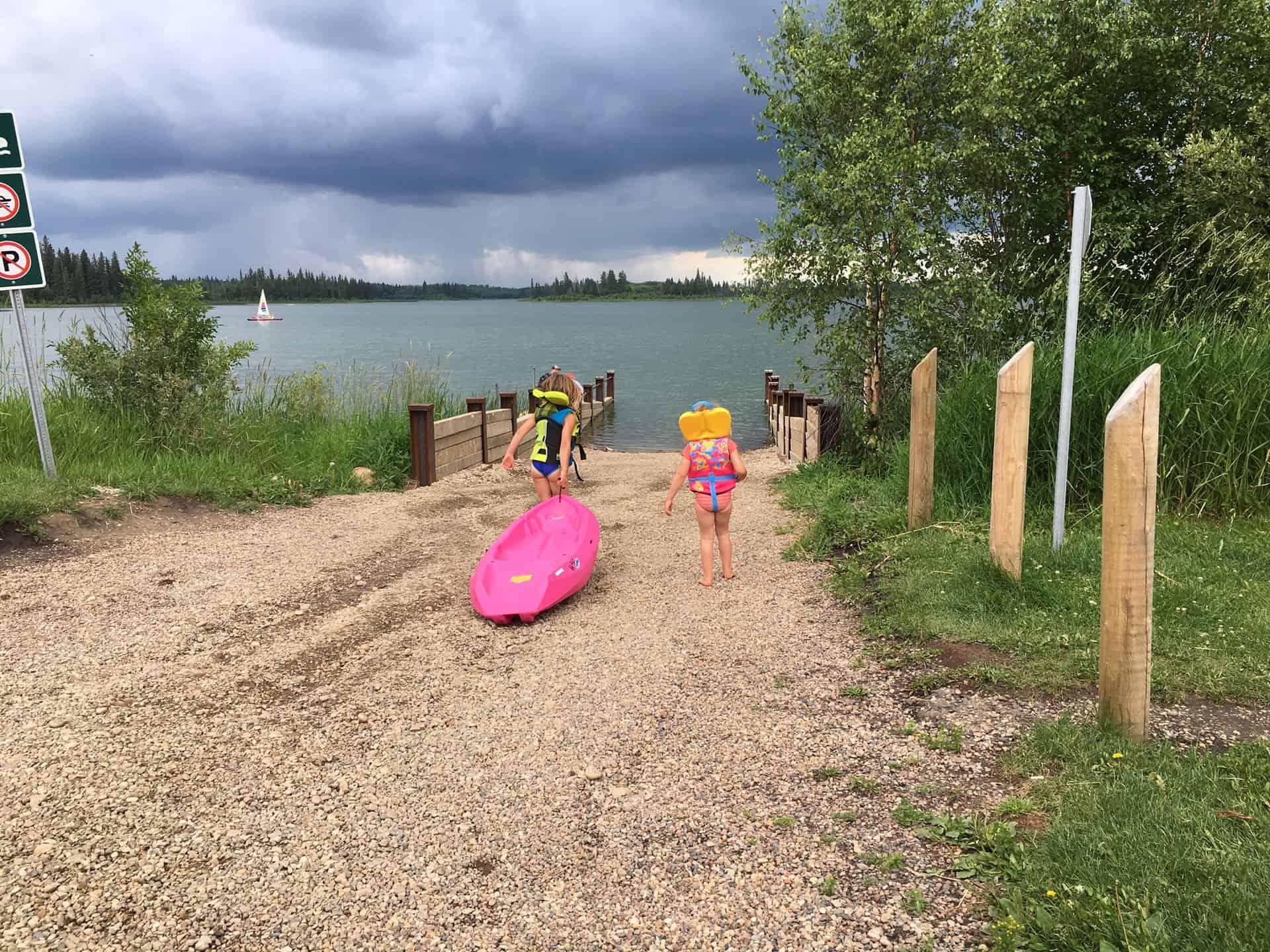 Try This Kayak With Kids At Elk Island Park Raising