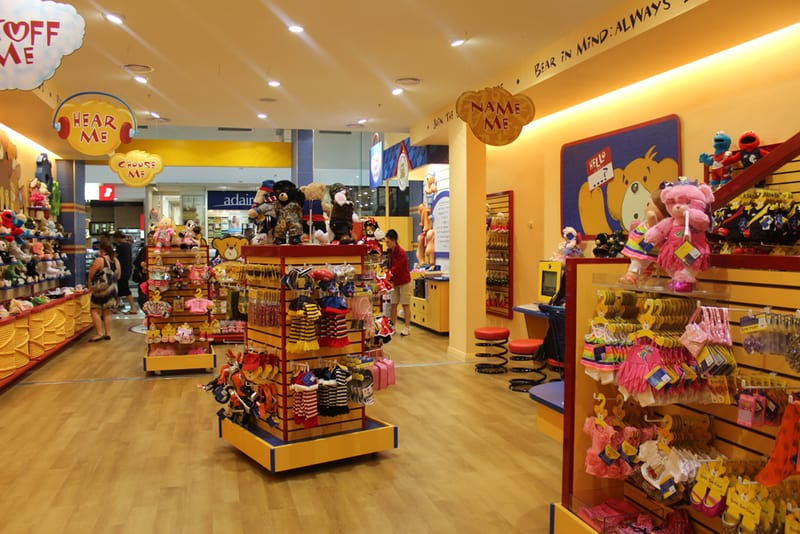 Is There A Build A Bear Workshop In Westfield
