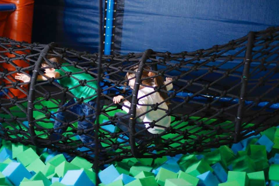 Ninja Course, Full Bar and Indoor Playground at Jump Park Trampoline in Sherwood Park