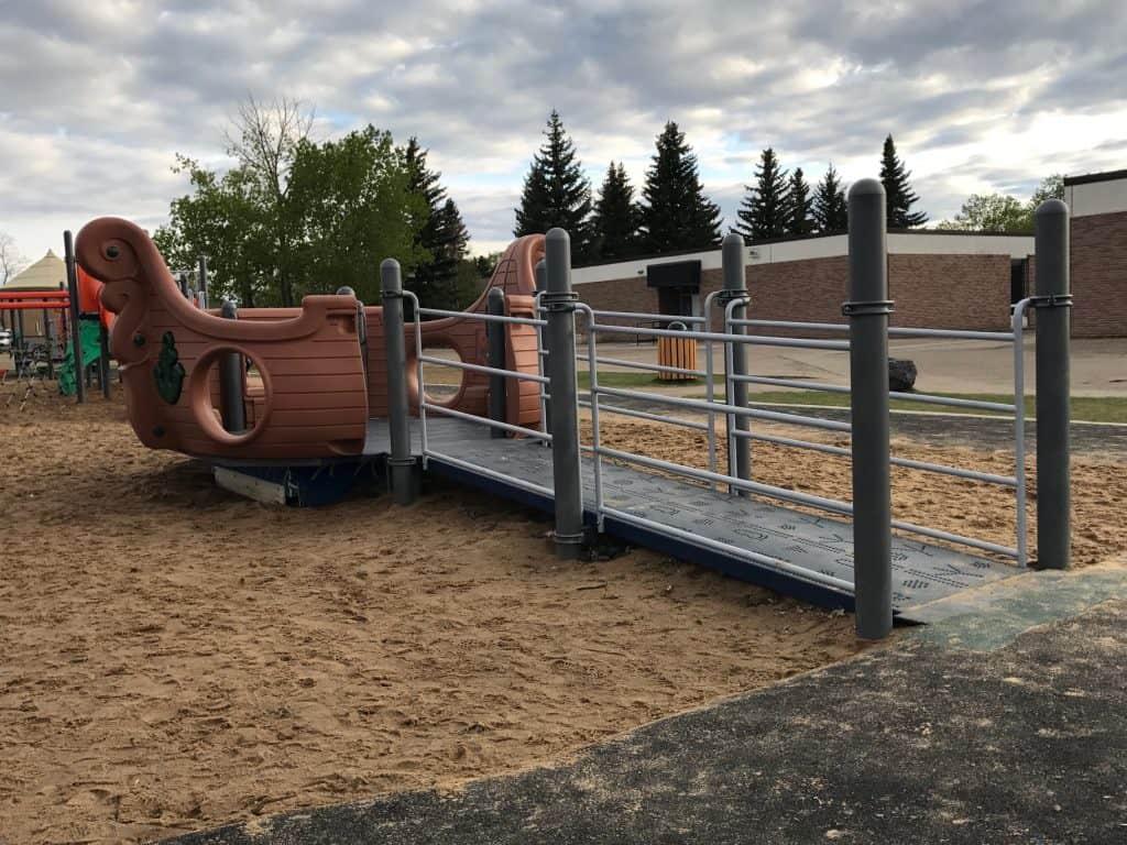 Westboro School Playground in Sherwood Park