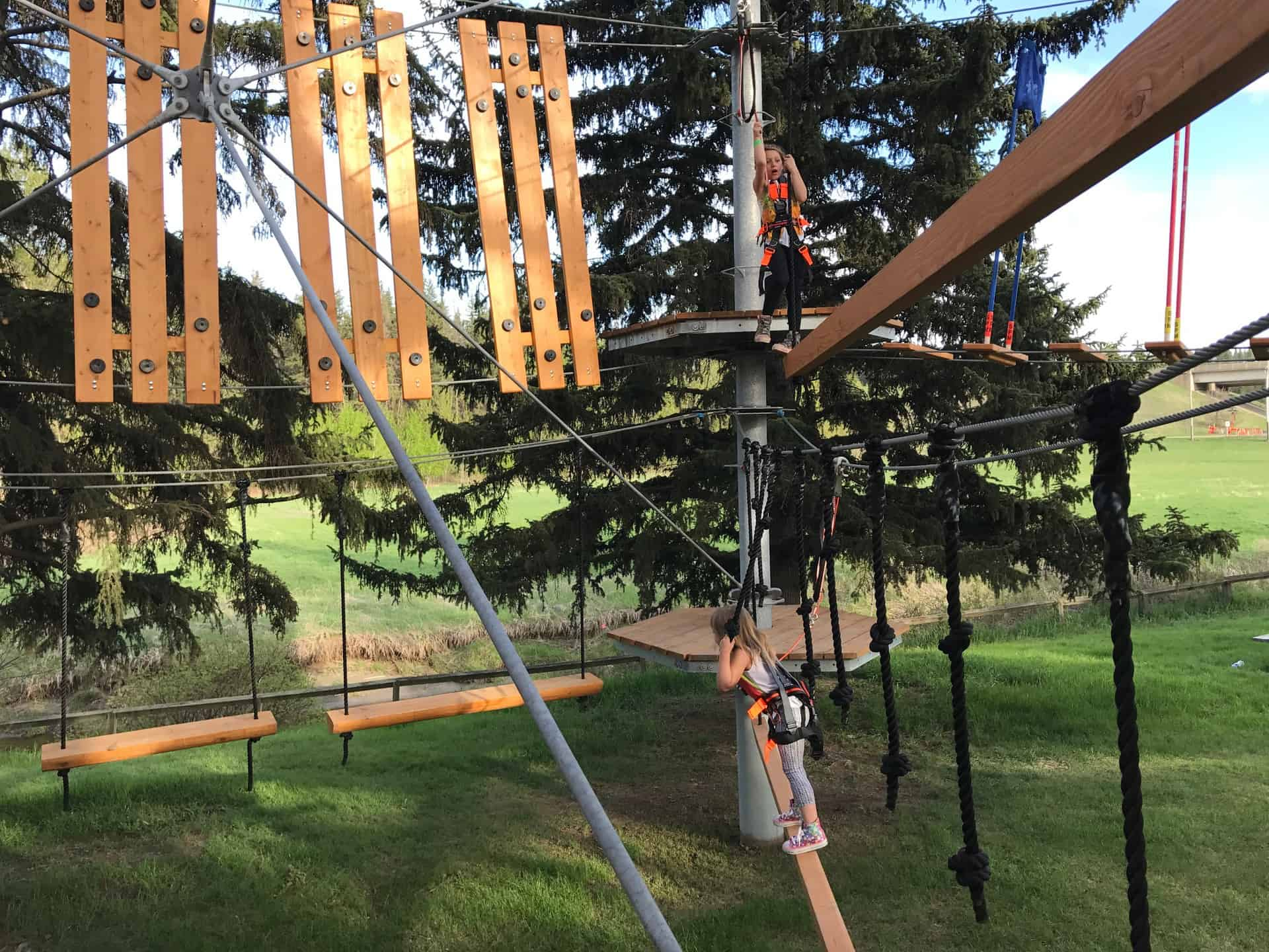 Snow Valley Aerial Park Opens for the Summer June 23