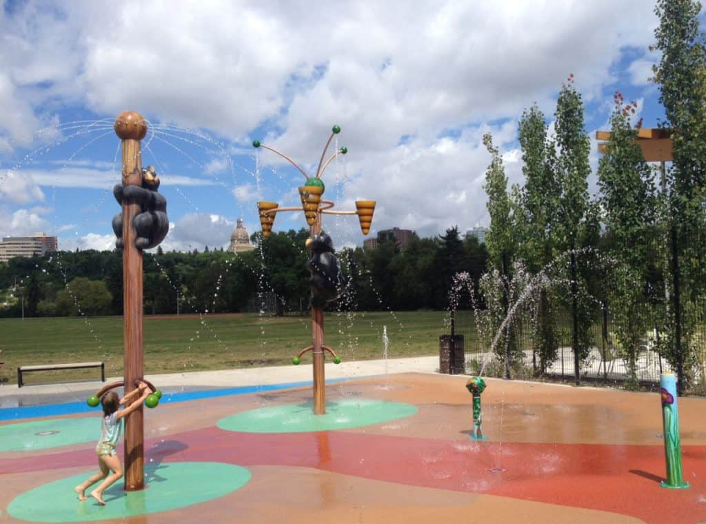 City of Edmonton Spray Parks Open This Weekend | 5/12