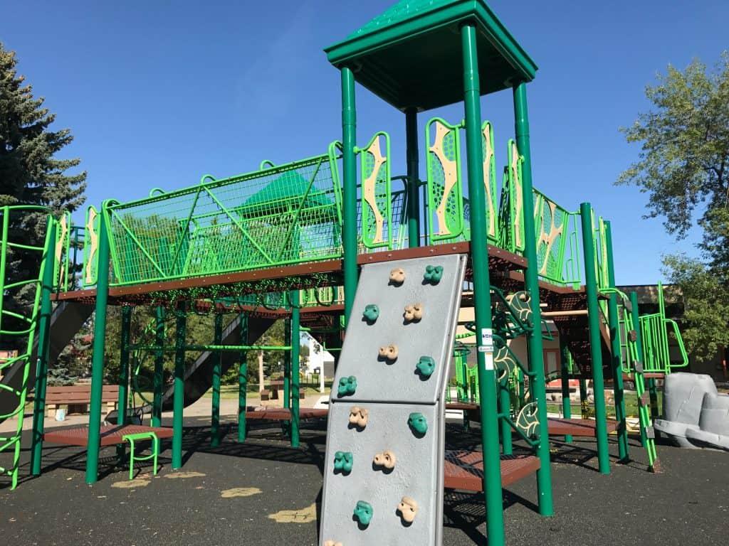 'Zipline Playground' Crestwood Community Playground