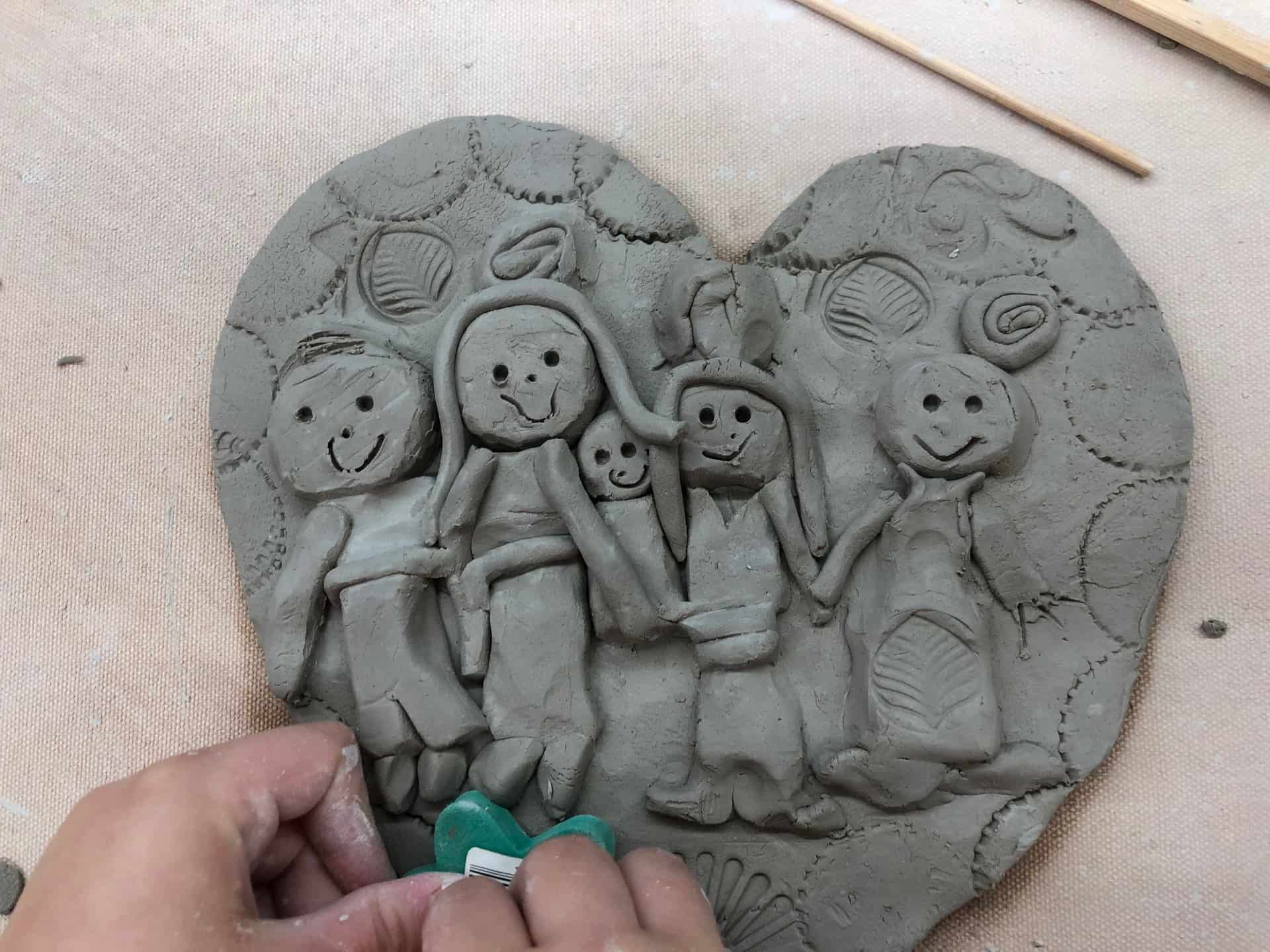 Kids Pottery Classes: Clay with Me Class at the Clay Hut (Smeltzer House)