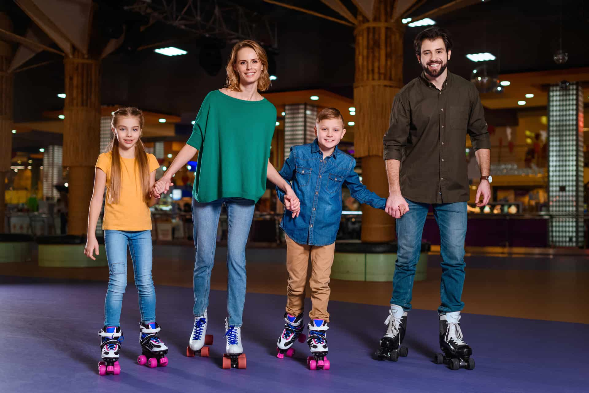 There's a Pop-up Roller Rink Coming to Southgate Centre and You're Going to Want to Bring Your Kids