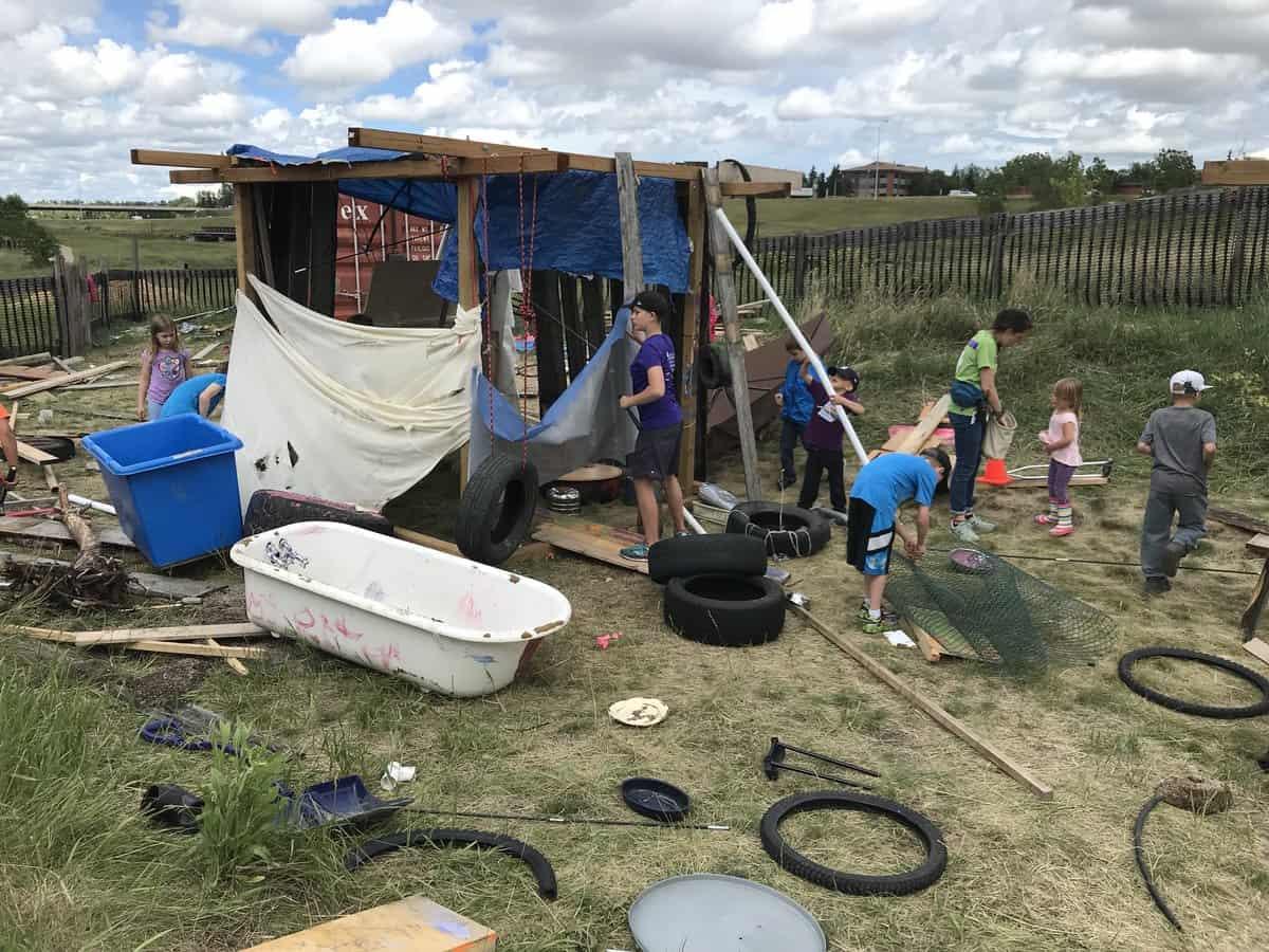 Visit the Junkyard Playground at Telus Spark