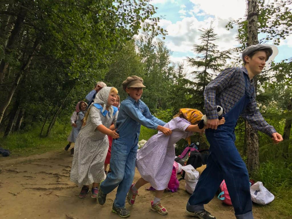 Experience Pioneer Life with Ukranian Cultural Heritage Village Summer Day Camps