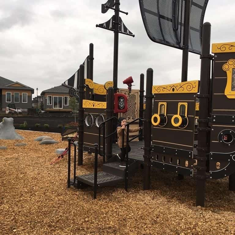 'Pirate Playground' in Leduc