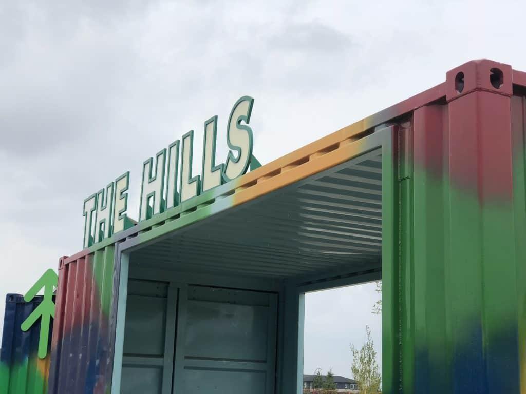 'Modern Playground' at The Hills at Charlesworth