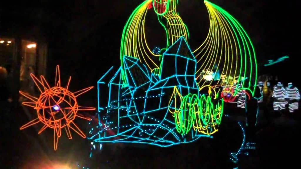 You Can Bring Your Kids to an After-Dark Glowstick Walk that's Going to Light up the Night on Oct 20