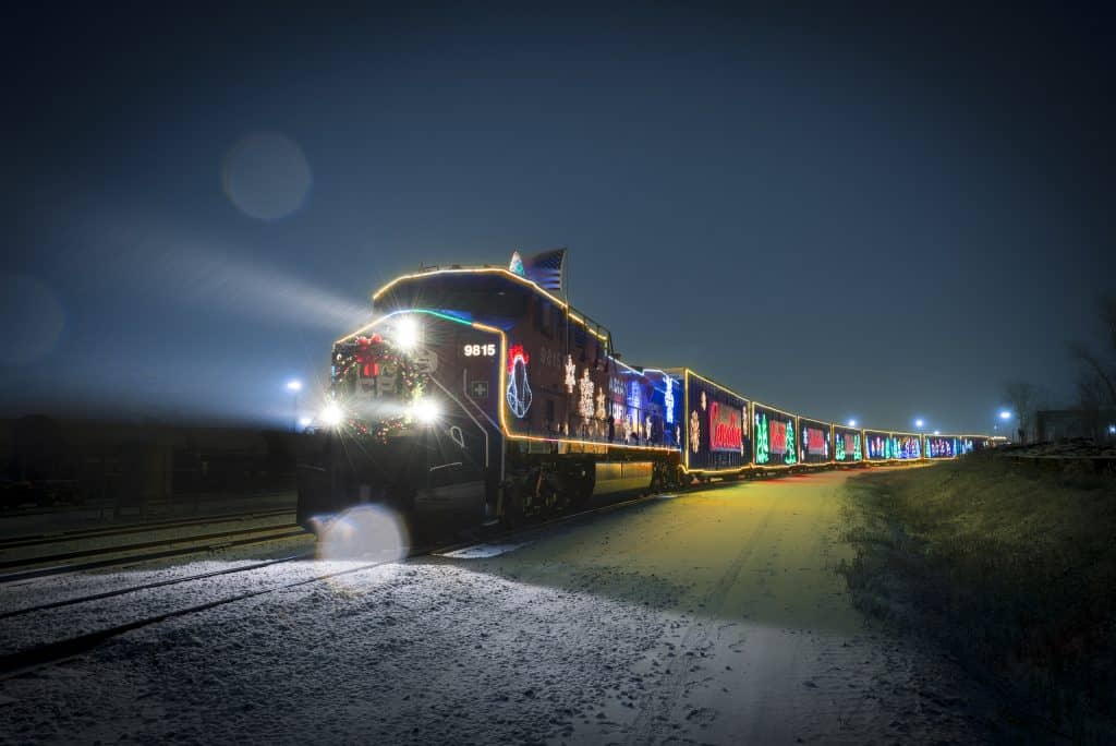 Where & When to See the FREE Canadian Pacific Holiday Train Near Edmonton This Year (2019)
