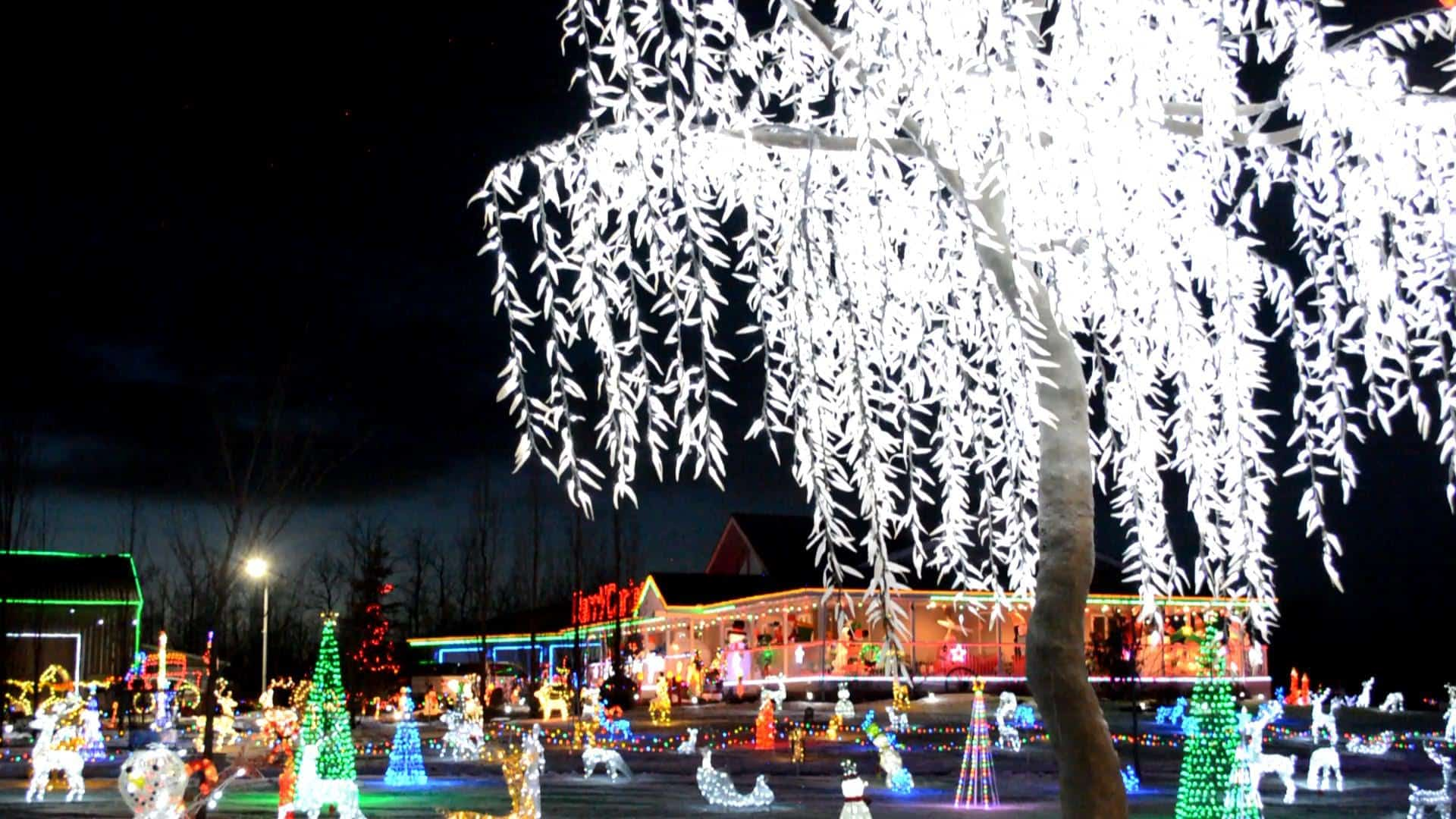 20 Holiday Lights Displays You've got to See in Edmonton and Area | 2018