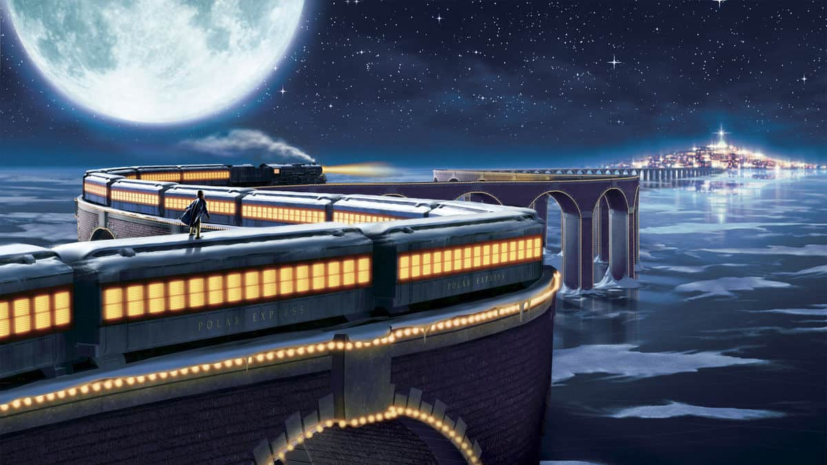 The Polar Express Pajama Party in the IMAX Every Weekend in December