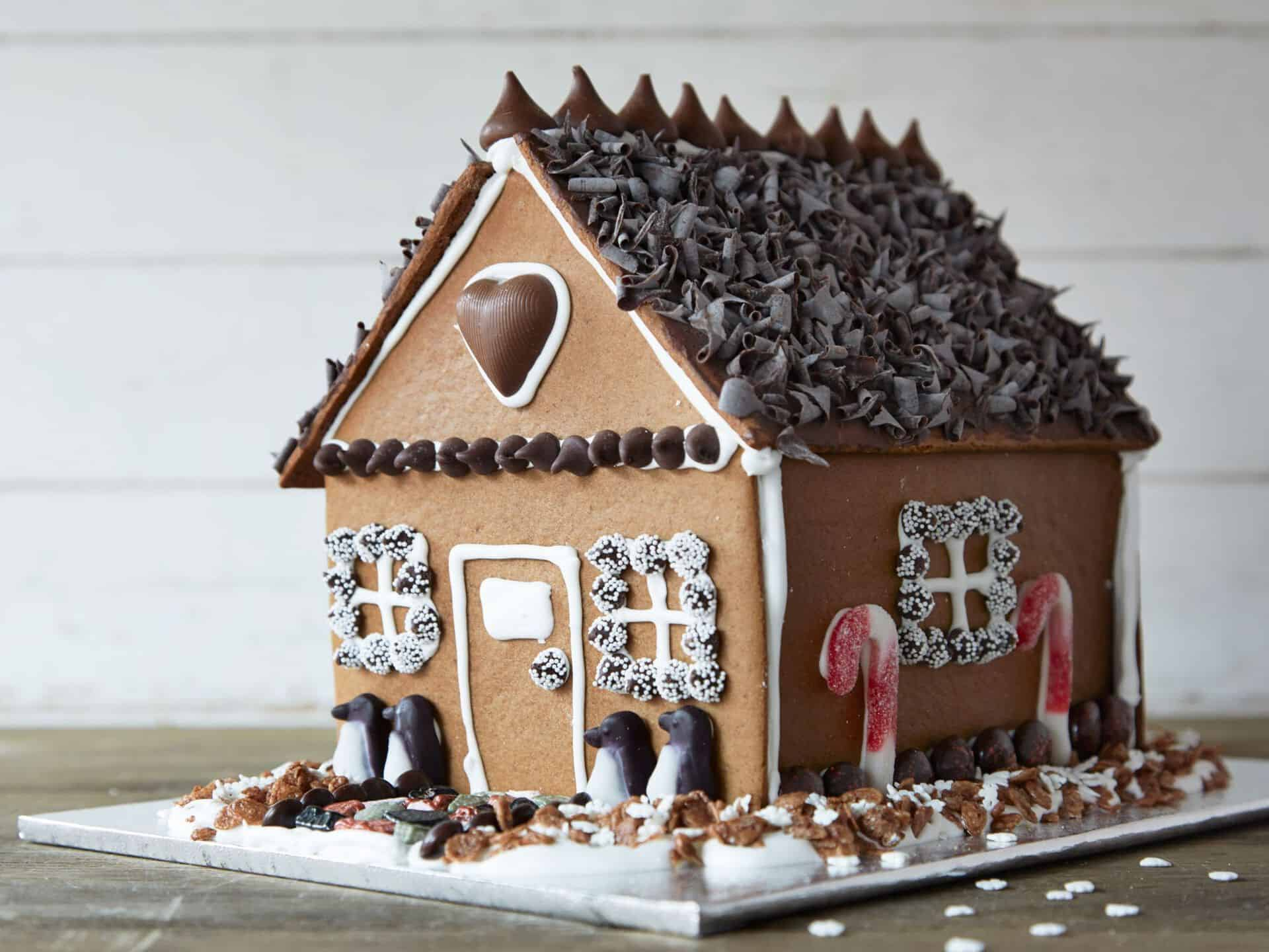 7 Holiday Gingerbread House Works