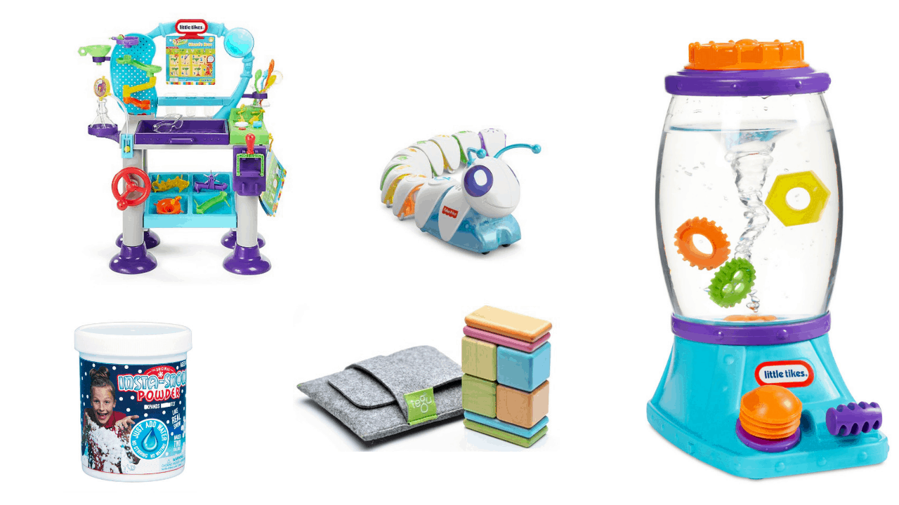 6 STEM Toys Your Toddler is Going to Play with Over and Over