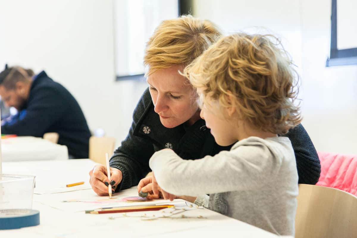 New! Family Studio at Art Gallery of Alberta