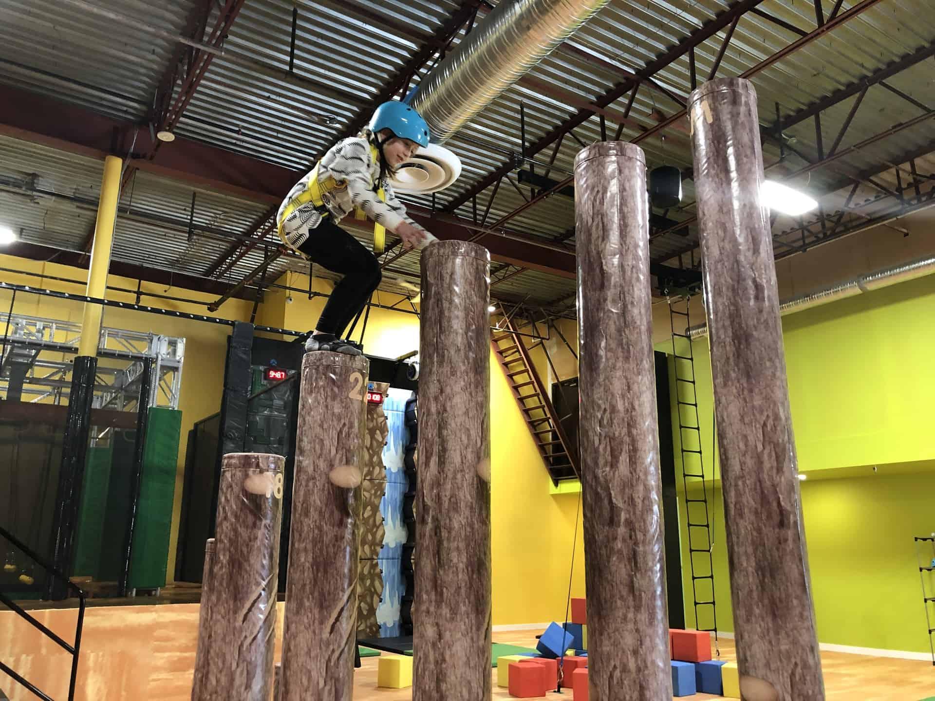 You've Got to Explore the Ninja Course Playground at Amazone Adventure Zone