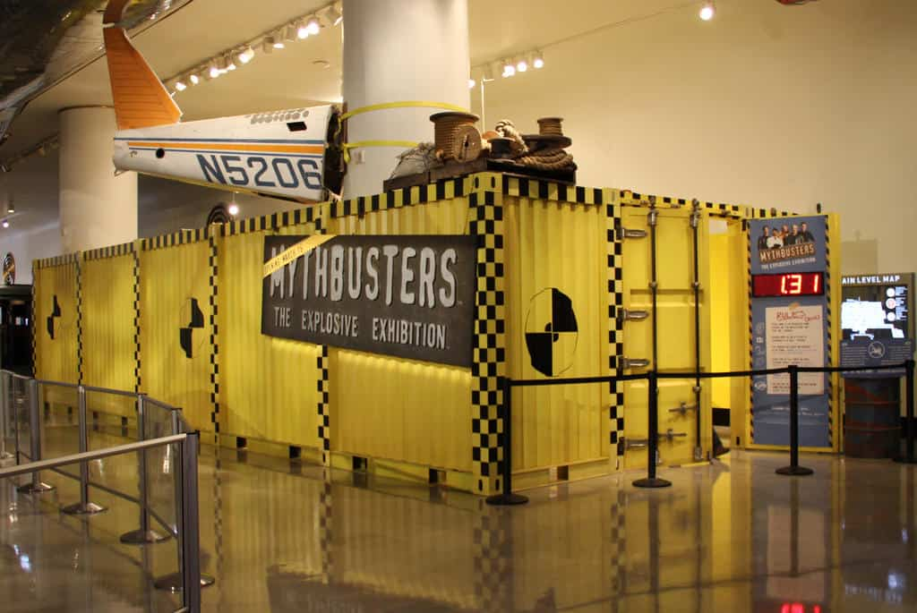 Mythbusters Exhibit Coming to Telus World of Science