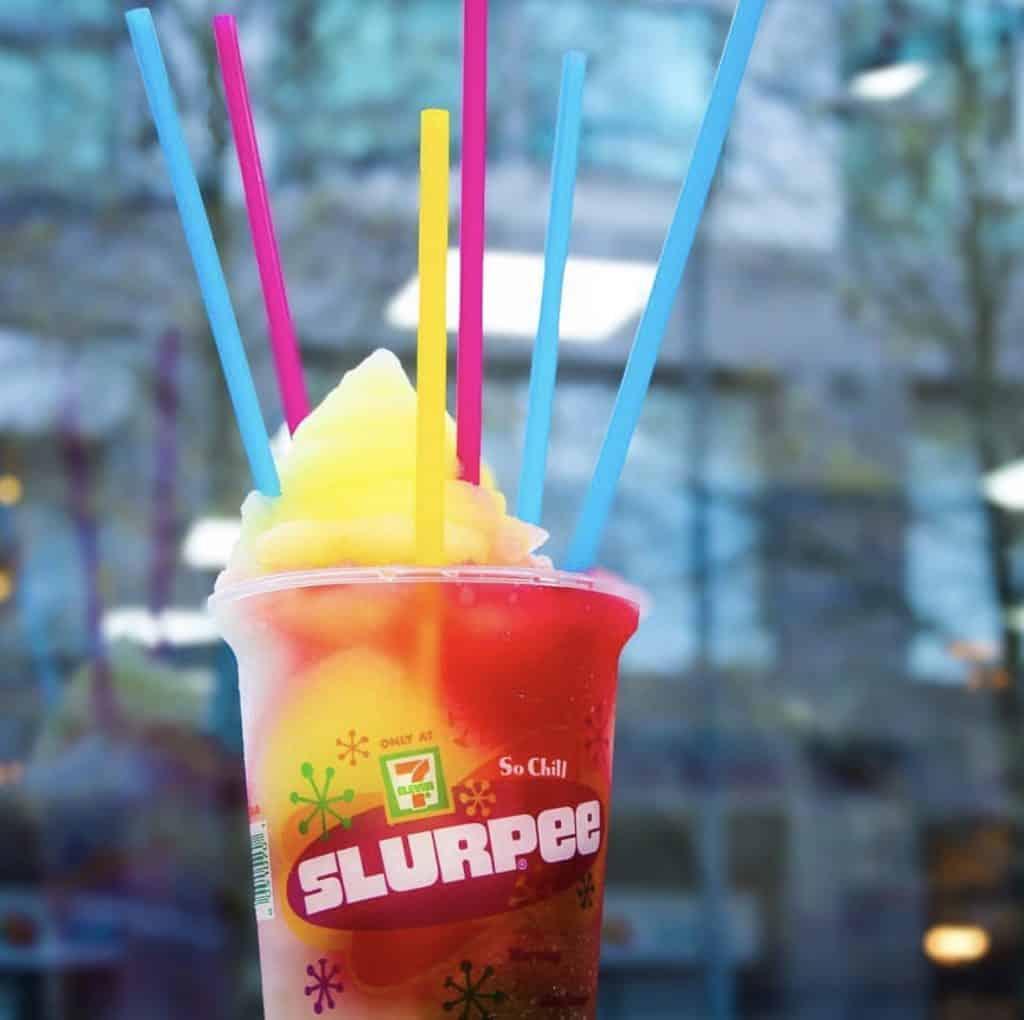 Get Free Slurpees at 7Eleven on 7/11 in Edmonton