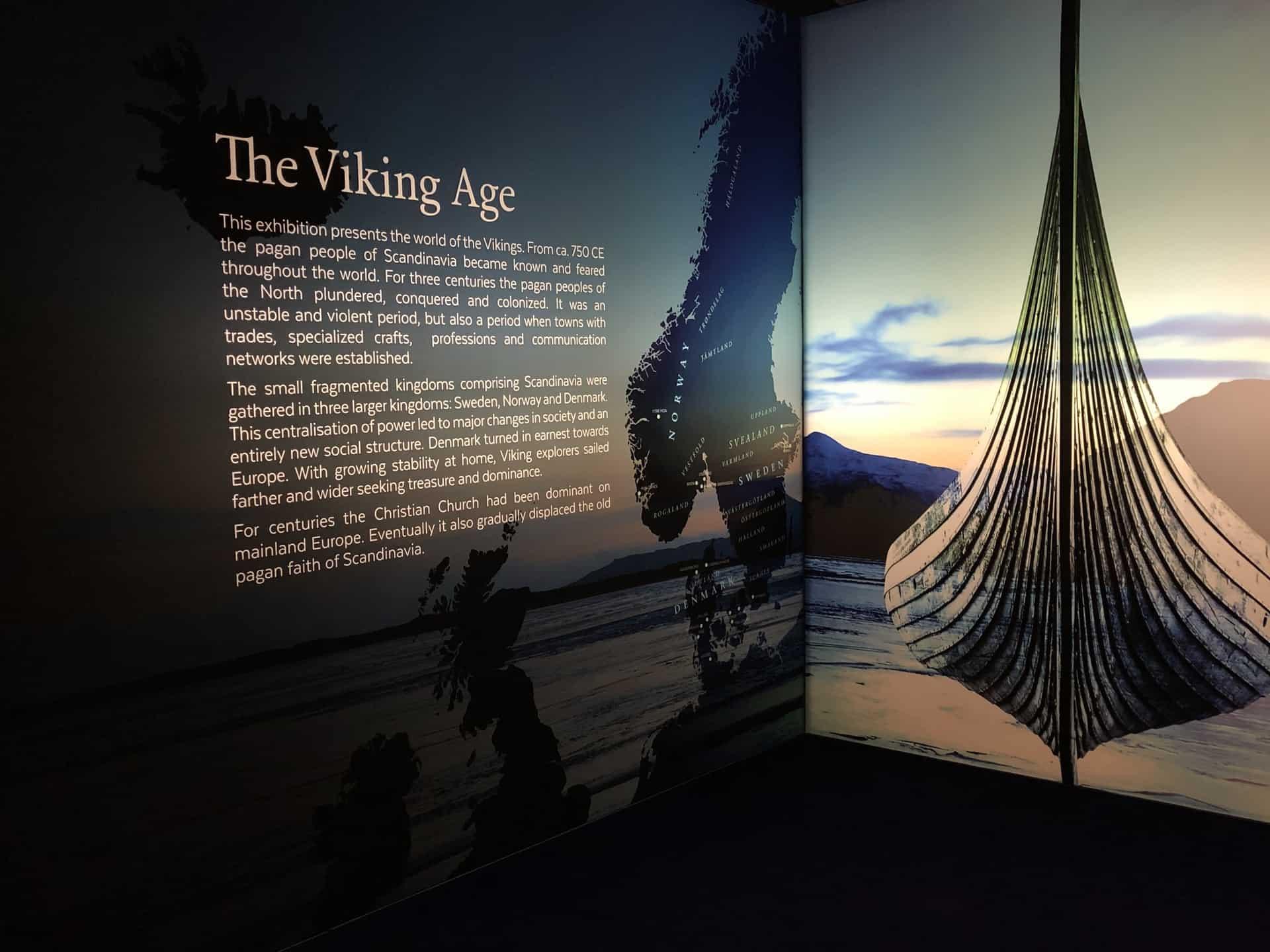 Exploring the New Vikings Feature Gallery at Royal Alberta Museum
