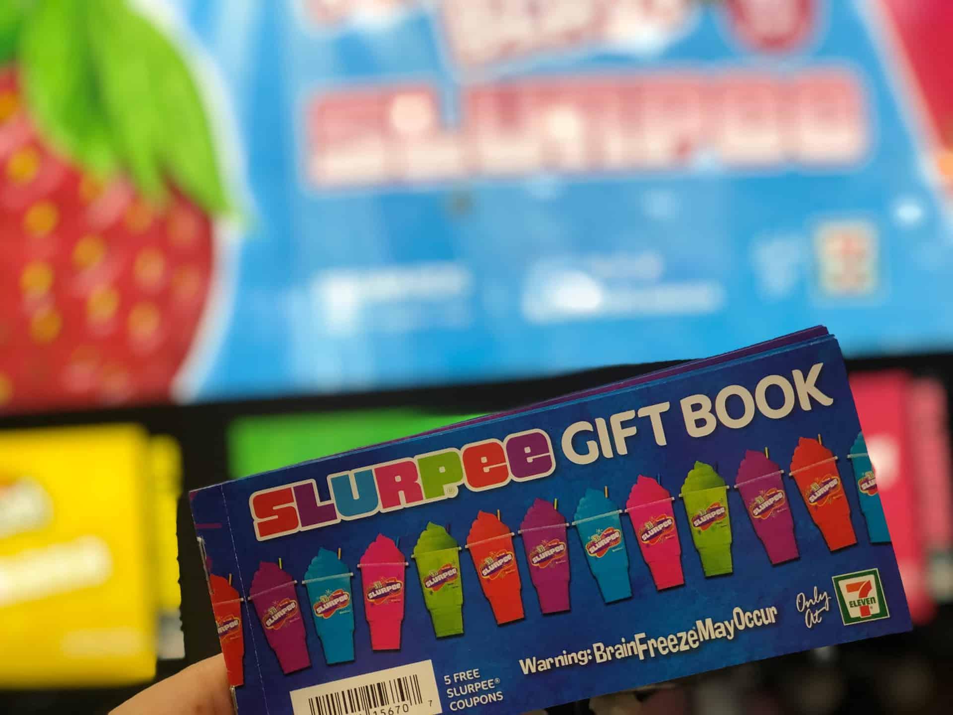 Summer Hack: You Can Get Slurpee Gift Voucher Booklets at 7Eleven
