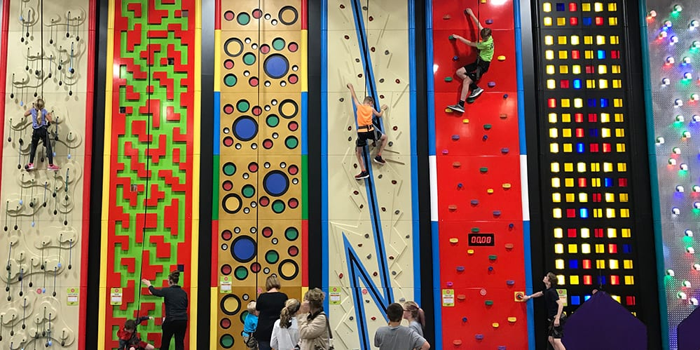 Clip n Climb is OPEN for Climbing up the Walls