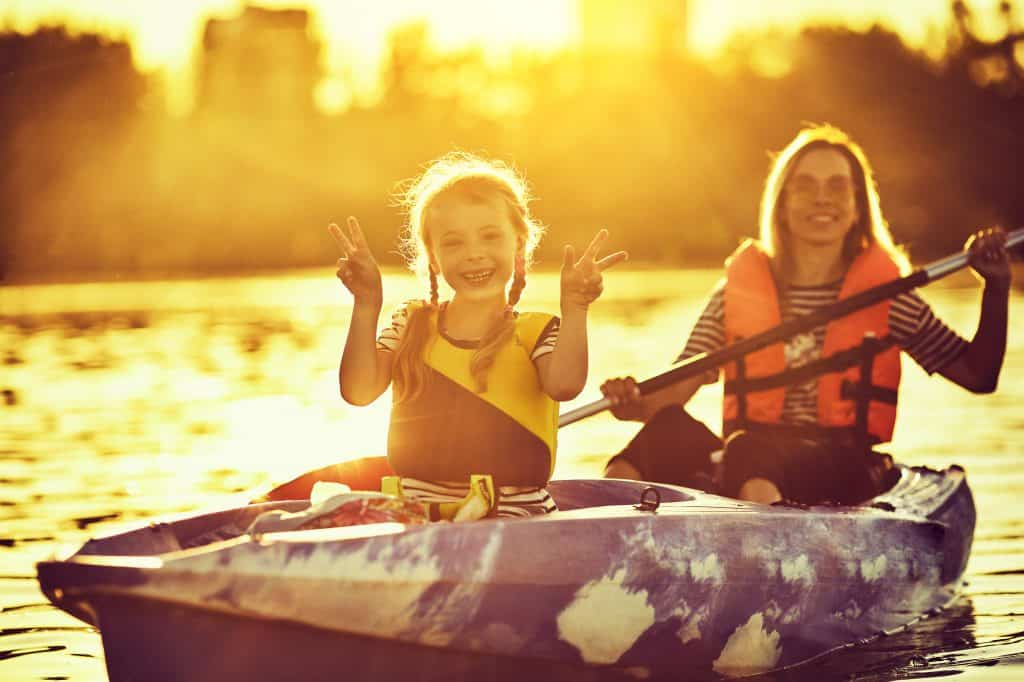 You Can Try Out a Kayak at Try a Kayak Day at Rundle Park on June 15